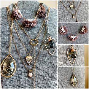 Bundle of 4 | Crystalline Necklace Bundle
